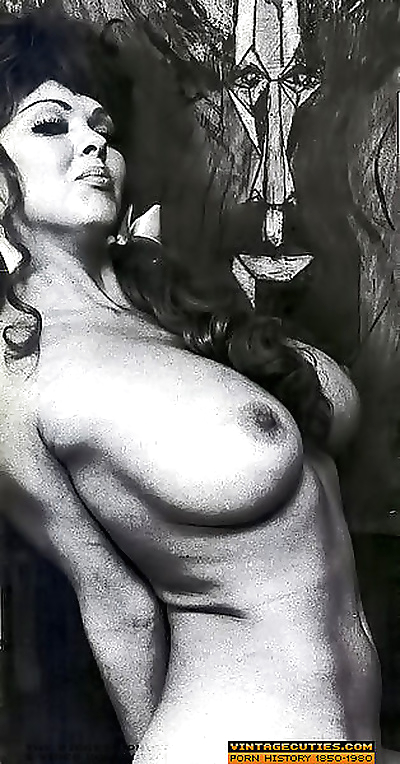 Vintage porn star of the..
