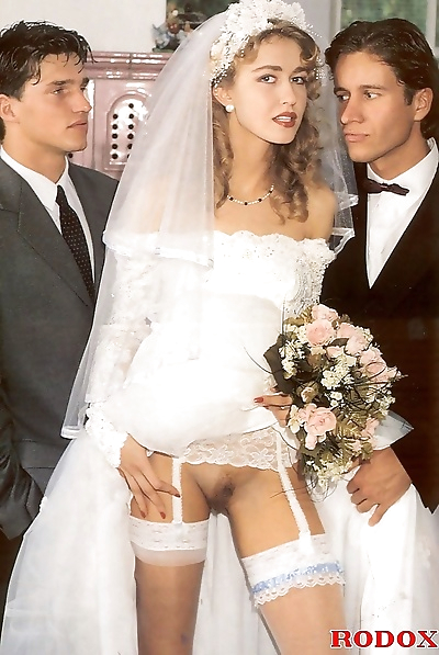 Wife double fucked at wedding in retro porn pics - part 243