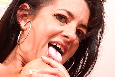 Mature babe gabriella lane wonders if you could cum on her tramp stamp. - part 1494