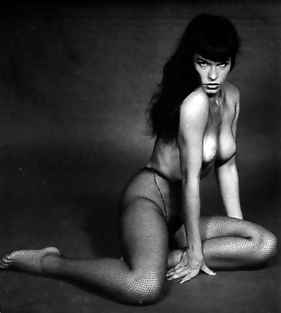 Color porn photos with nude pinup queen bettie page - part 1536